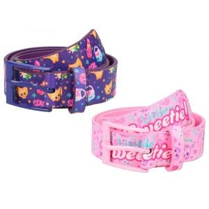 Shopkins Kids Belt Pink Lavender-Pack of 2