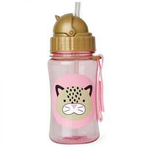 Skip Hop Leopard Zoo Straw Bottle