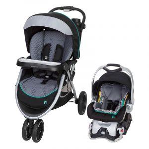 Baby Trend Black/Grey Skyview Plus Stroller/Carseat Travel System Ziggy