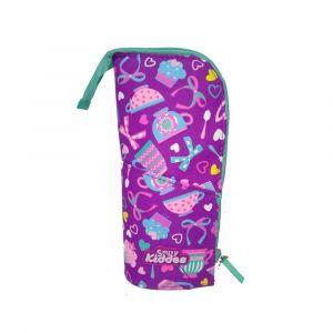 Smily Kiddos Purple Pen Holder Case