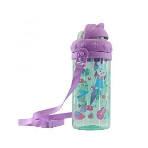 Smily Kiddos Light Blue Sipper Water Bottle