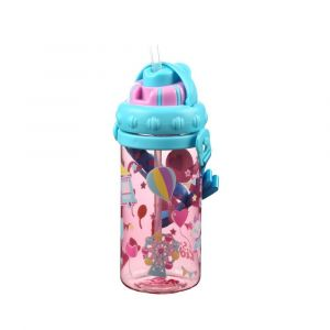Smily Kiddos Pink Sipper Water Bottle