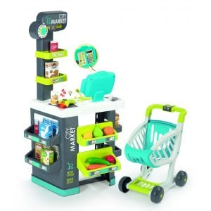 Smoby Market With 34 Accessories