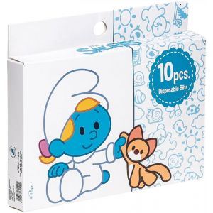 Smurfs 10 Box Disposable Bibs