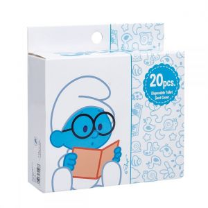 Smurfs 20 Box Disposable Toilet Seat Covers