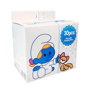 Smurfs 30 Box Disposable Changing Mats