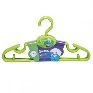 Smurfs Green Hangers 5pcs