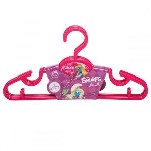 Smurfs Pink Hangers 5pcs