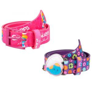 Smurfs Kids Pink and Lavender Belt 2pcs