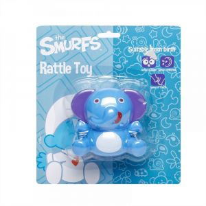 Smurfs Elephant Rattle Toy