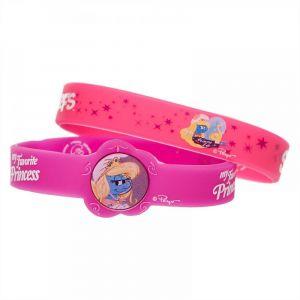 Smurfs Dark Pink Silicone Bracelet 2pcs