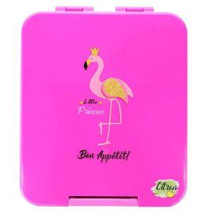 Citron Snack Box Flamingo