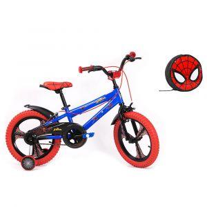 "Spartan 14"" Marvel Spiderman Premium Bicycle with Free Bag"