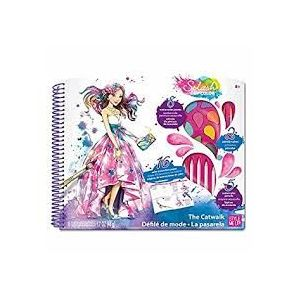 Style Me Up Splash of Color - The Cat Walk -Deluxe Kit - Art & Craft Toys