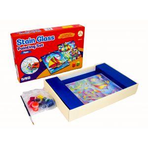 Sarvah Stain Glass Aqua Painting Set - Craft Toys