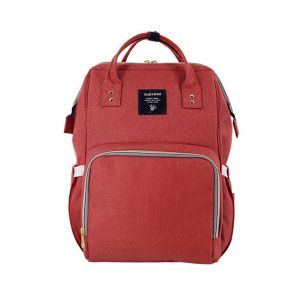 Sunveno Brick Red Diaper Bag