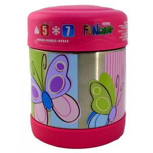 Thermos Funtainer Stainless Steel Food Jar 290ml Butterfly