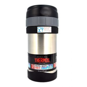 Thermos Ss Food Jar Regular With Folding Spoon 470ml