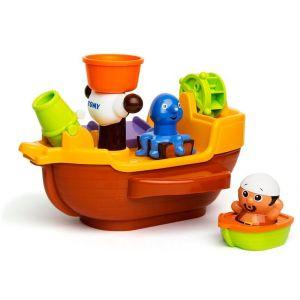Tomy Toomies Pirate Ship Bath Toy
