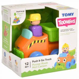 Tomy Toomies Push n Go Truck Toy