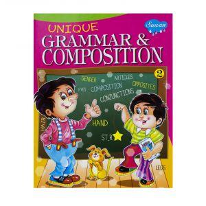 Sawan Unique Grammar & Composition 2 - Children's Book