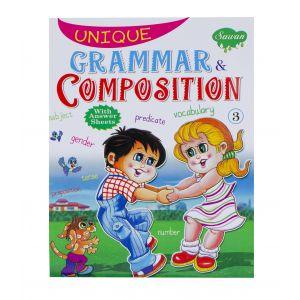 Sawan Unique Grammar & Composition 3 - Children's Book