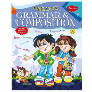 Sawan Unique Grammar & Composition 5 - Children's Book