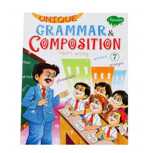 Sawan Unique Grammar & Composition 7 - Children's Book