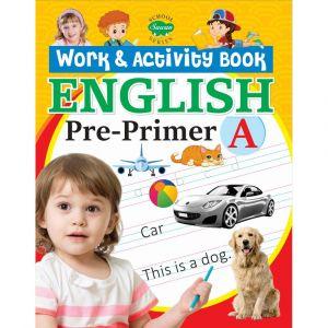 Sawan English Work & Activity Book - Pre-Primer A