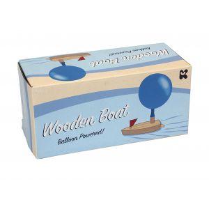 Keycraft Balloon Powered Wooden Boat