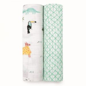 Aden + Anais Around the World Classic Swaddles 2-Pack