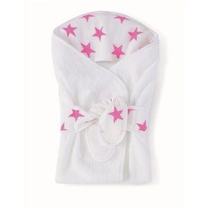 Aden + Anais Baby Bath Wrap - Fluro Pink