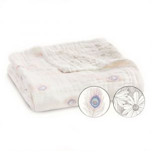 Aden + Anais Silky Soft Dream Blanket Featherlight Dainty Plume