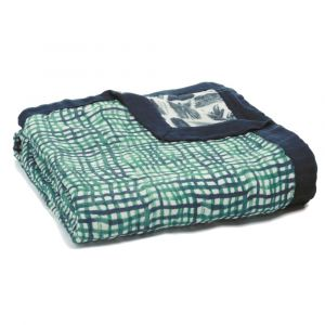 Aden + Anais Silky Soft Dream Blanket Seaport- Net