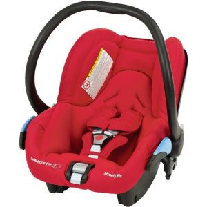 Bebe Confort Intense Red Streety fix Car Seat