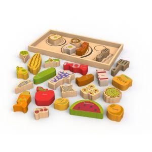 Begin Again Alphabites A-Z Wooden Puzzle