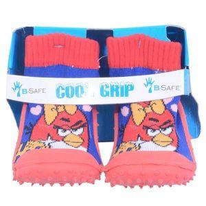 Cool Grip Baby Shoe Socks - Angry Bird