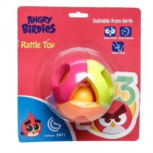 Angry Birds Ball Rattle Toy