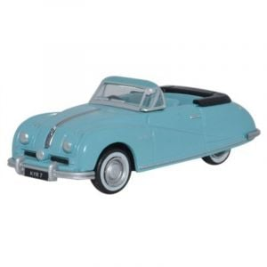 Oxford Diecast Austin Atlantic Convertible Ming Blue Toy Car