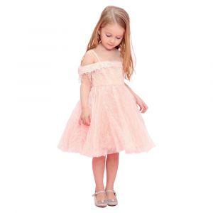 Baby Doll - Tule Dress Peach