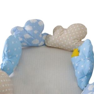 Baby Bay Cloud Pillows Bed Bumper