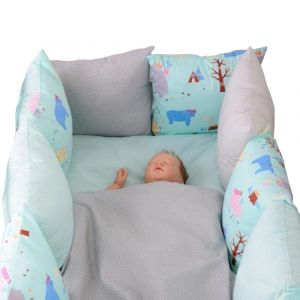 Baby Bay Indiana Bed Bumper
