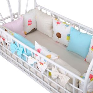 Baby Bay Popsicle Bed Bumpers - Baby Bedding