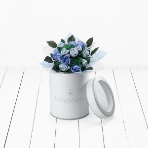 Baby Blooms Hand Tied Posy - Blue