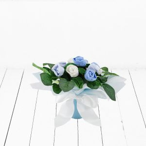Baby Blooms Baby Bud Posy - Blue