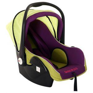 Baby Plus Car Seat Cum Carry Cot - Purple