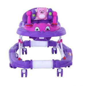 Baby Plus Baby Walker Cum Rocker - Purple