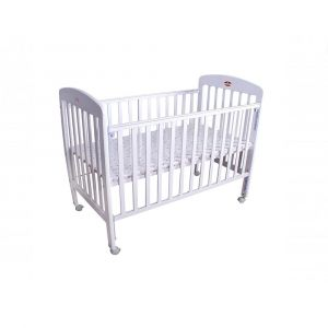 Baby Plus White Baby Bed