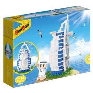 Banbao Arabic Line Burj Al Arab + Tobees Building Blocks - 345pcs