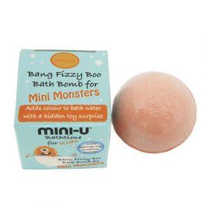 Mini-U Bang Fizzy Split Bath Bomb Mango - Bath Toys